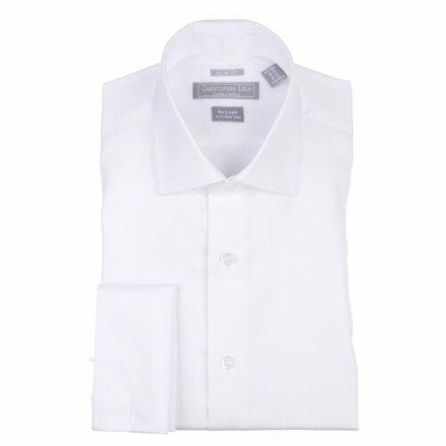 Slim Fit 100/% Cotton Wrinkle Free Christopher Lena Men/'s Contemporary