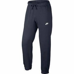 Nike Sportswear Club Puno Para Hombre Pantalones Azul Blanco 804406 451 Ebay