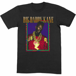 Big Daddy Kane 'Retro Style T-Shirt' *Official Merchandise *Old School Hip Hop*