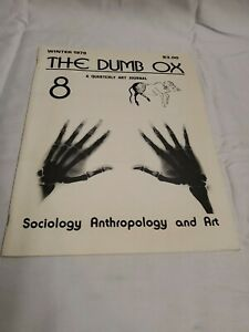 THE-DUMB-OX-A-QUARTERLY-ART-JOURNAL-James-Hugunin-Winter-1979-Paperback-No-8