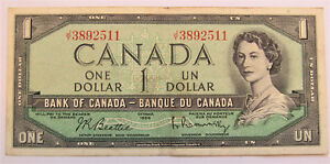 JY-3892511-CIRCULATED-1954-1-DOLLAR-BANKNOTE-combined-shipping