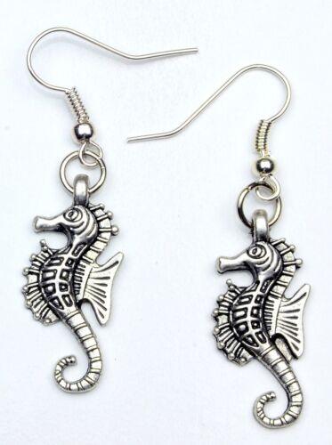 Hand Made Sea Horse Earrings HCE384
