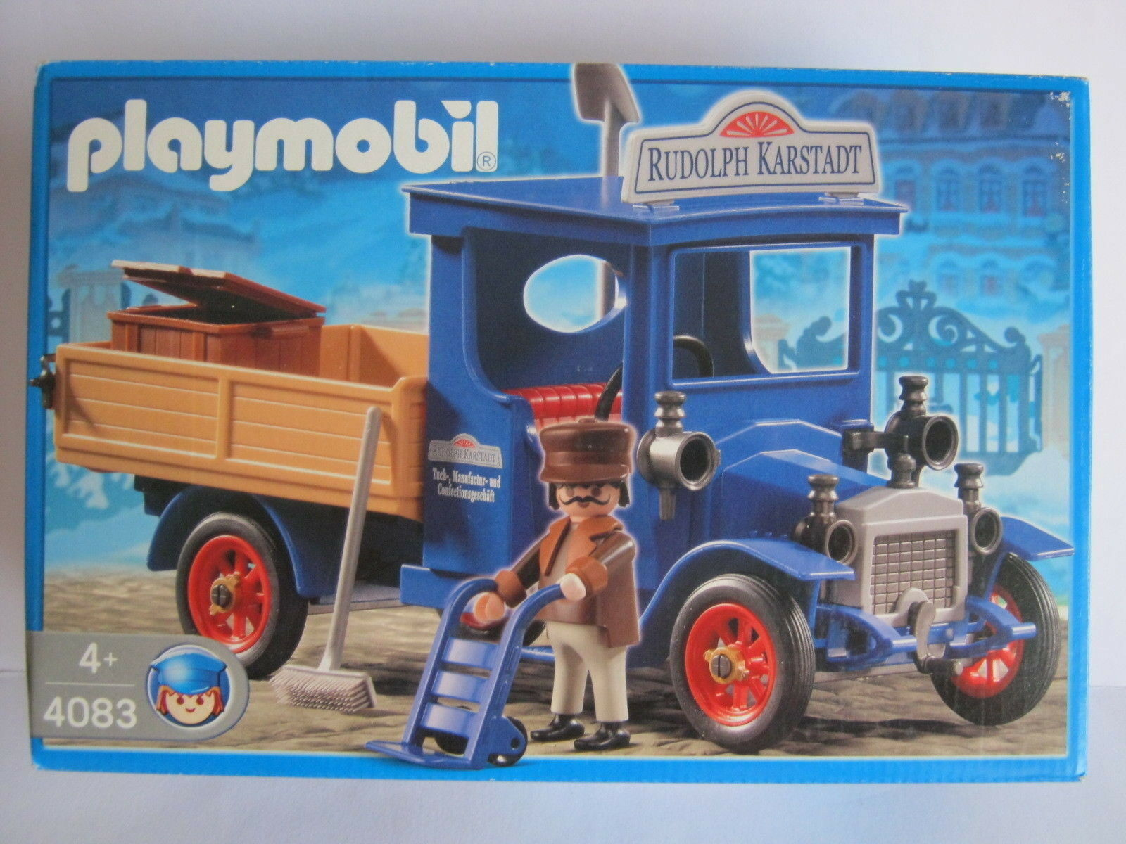 Playmobil - 4083 Oldtimer LKW blau Nostalgie  .. NEU MISB NRFB