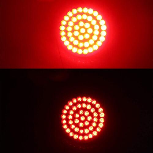 2X Red LED 1156 for Harley-Davidson Rear Turn Signal Light Blinker HD Road King