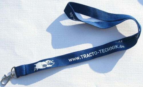 TRACTO-TECHNIK Schlüsselband Lanyard NEU A49