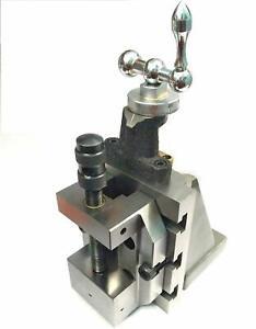 Lathe-Milling-Vertical-Slide-amp-60-mm-Steel-Grinding-Vice-Vise-Engineering-Tools