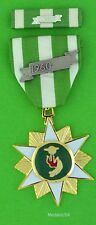 Vietnam Campaign Military Award Medal with Ribbon Bar and 60 device - RVN