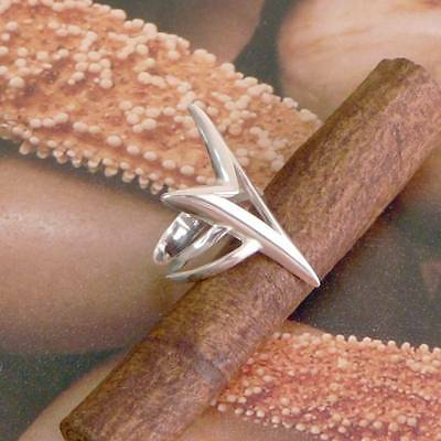 STERLING SILVER VICTORY RING SOLID .925 /NEW SIZE J-Y JEWELLERY