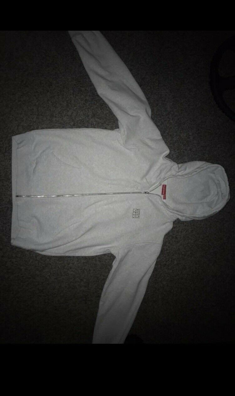 Supreme World Famous Zip Up Hoodie