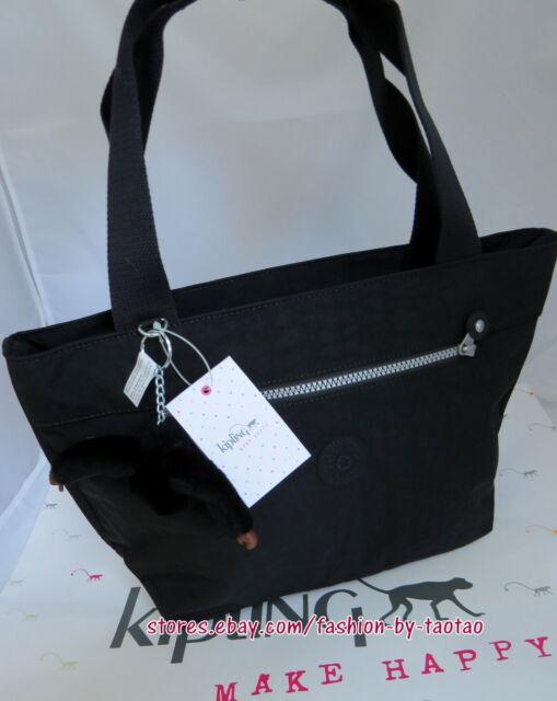 2265383217b8 Kipling Hb7450 Jerimiah Tote Travel Shoulder Handbag Black for sale ...