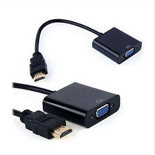 1080P HDMI Male to VGA Converter Adapter For PC Laptop Mac DVD HDTV PS3 XBOX 360