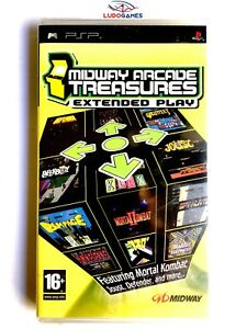 Midway-Arcade-Treasures-Extended-Play-PLAYSTATION-Psp-Neuf-Scelle-Scelle