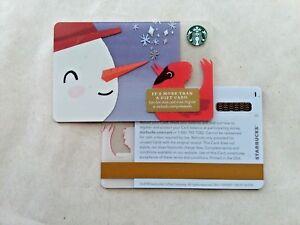 RARE STARBUCKS 2018 HAPPY HOLIDAYS GIFT CARD W PRINTER ... Happy Gift Card Balance