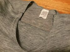 Vintage 70s USA Made Gray Color 50/50% Cotton/ Polyester T Shirt. Size 2X