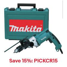 """Makita 3/4"""" Variable-Speed Hammer Drill/Case HP2050R Certified Refurb: PICKCR15"""
