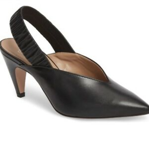 f36dd63c34a Image is loading 275-Lewit-Marta-Slingback-Pump-Black-Women-38-