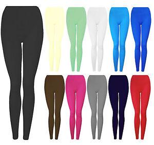Détails sur Neuf Fille Hiver Coton Épais Leggings Enfants Chaude Extensible 7 13 Ans