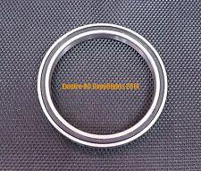 Black Rubber Sealed Ball Bearing Bearings 6809RS 45x58x7 mm 5pcs 6809-2RS