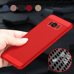 Luxury-Shockproof-Ultra-Thin-PC-Mesh-Hard-Back-Case-Cover-For-Samsung-Galaxy