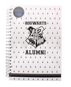 Harry Potter A4 Notebook - Hogwarts Alumni