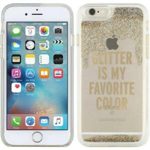 Kate Spade New York Clear Liquid Glitter Funda Para iPhone 7 en