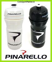 Water Bottle Pinarello 2 5/8in White Black / 2