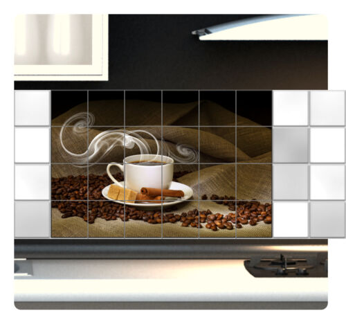 Carrelage Autocollant Fliesenbild carrelage Autocollant Cuisine Café tuile Carreaux images