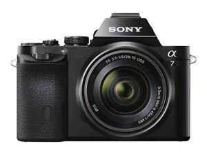 SONY-a7-Mirrorless-Camara-Con-Lente-Zoom-28-70-mm-f-3-5-5-6