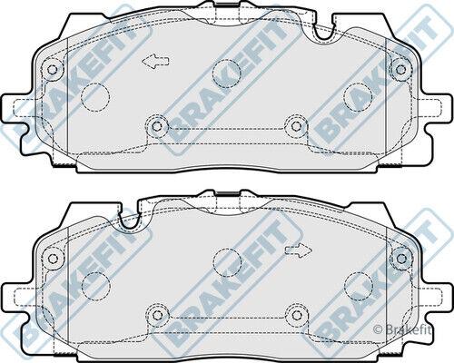 AUDI S4 B9 3.0 Brake Pads Set Front 16 to 19 CWGD Brakefit 4K0698151 4K0698151C