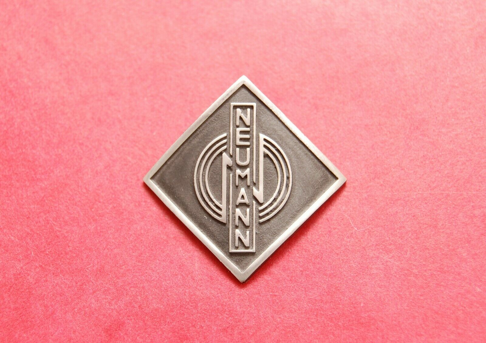 Neumann Logo Label for Vintage German Microphones U47 or CMV3