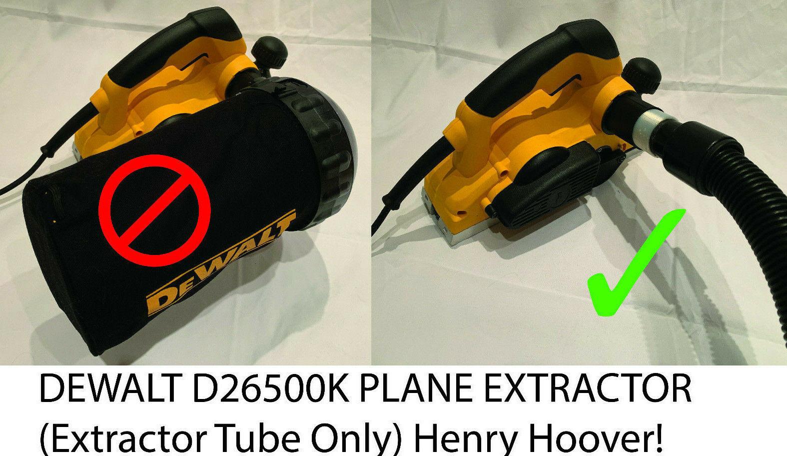 1050W Power Tool with Kitbox D26500K Dewalt® 240 Volt Professional 82mm Planer