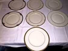 7 Misc. Lenox Dinner Plates~ Newbury, Golden Sand Dune, Republic, Haverford Hall