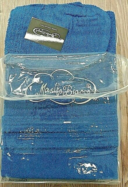 Accappatoio Tinta Unita Viareggio con cappuccio e tasche in 100/% cotone colore GRIGIO FERRO Taglia L Gabel