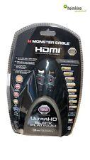 MONSTER CABLE 3m HDMI UltraHD BLACK Platinum Cavo (nuovo) commercio specializzato
