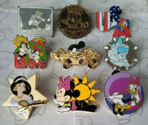 Lanyard-Pin-Series-Hotel-Hidden-Mickey-Collection-Set-Choose-a-Disney-Pin