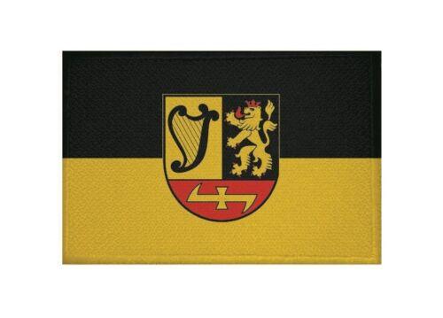 Aufnäher Ilvesheim Fahne Flagge Aufbügler Patch 9 x 6 cm
