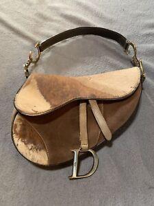 Details About Rare Authentic Dior Saddle Bag