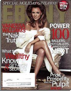Ebony - 2010, December - Vanessa Williams: The Naked Truth