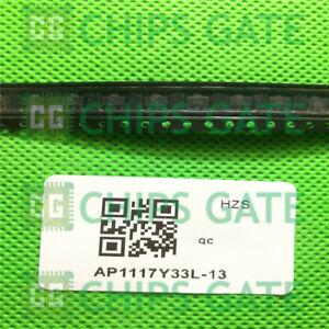 20PCS-AP1117Y33L-13-IC-REG-LDO-3-3V-1A-SOT89-3-Diodes