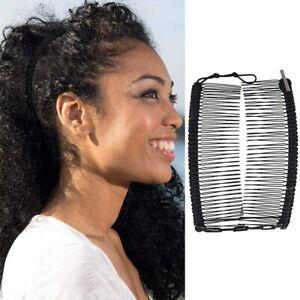 Vintage-Banana-Hair-Clip-Double-Comb-Hair-Accessory-Stretchable-Banana-Comb-Kzs