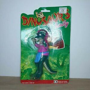 VINTAGE Dinosaurs Jim Henson Fran Sinclair vintage action figure Piantala COL RARO