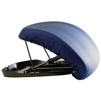 Carex Upeasy Seat Assist Standard Manual Lifting Cushion Navy Blue Free Shipping