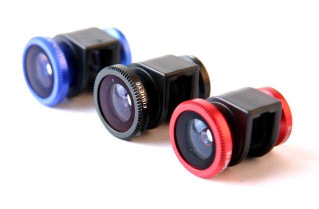 3 IN 1 Phone Lens Fisheye Lens,Macro Lens,Wide Angle Lens for iPhone 4 4S