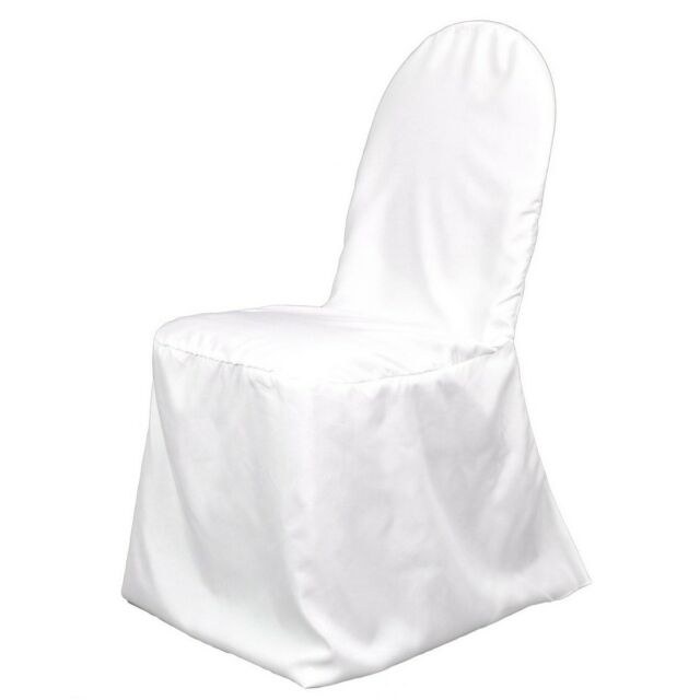 100 BRAND NEW Polyester Banquet Chair Covers ~Wedding~