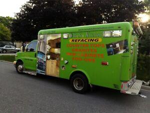 GMC ambulance truck