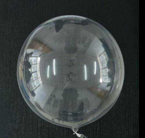 """Bubble Clear Transparent Party Wedding 10//16//18//24//36/"""" Small to Huge Balloons UK"""