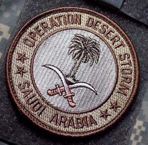 OPERATION DESERT STORM '91 PALM TREE OF SAUDI ARABIA vêlkrö DD INSIGNIA