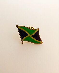 LOT OF 12 Jamaica Flag Lapel Pins Jamaican Flag Pin