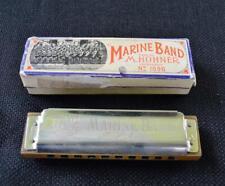 NEW HOHNER Marine Band THUNDERBIRD Harmonica M2011BXL-F Key of F Germany