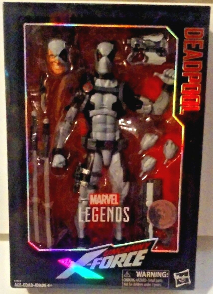 Marvel legends series 12 zoll unheimlich x - force fr deadpool tru exklusive neue misb